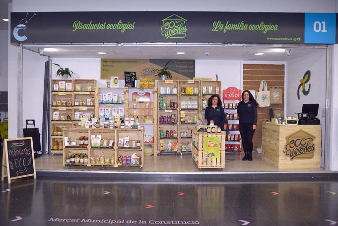 Productos ecológicos Ecoviredes, parada 1